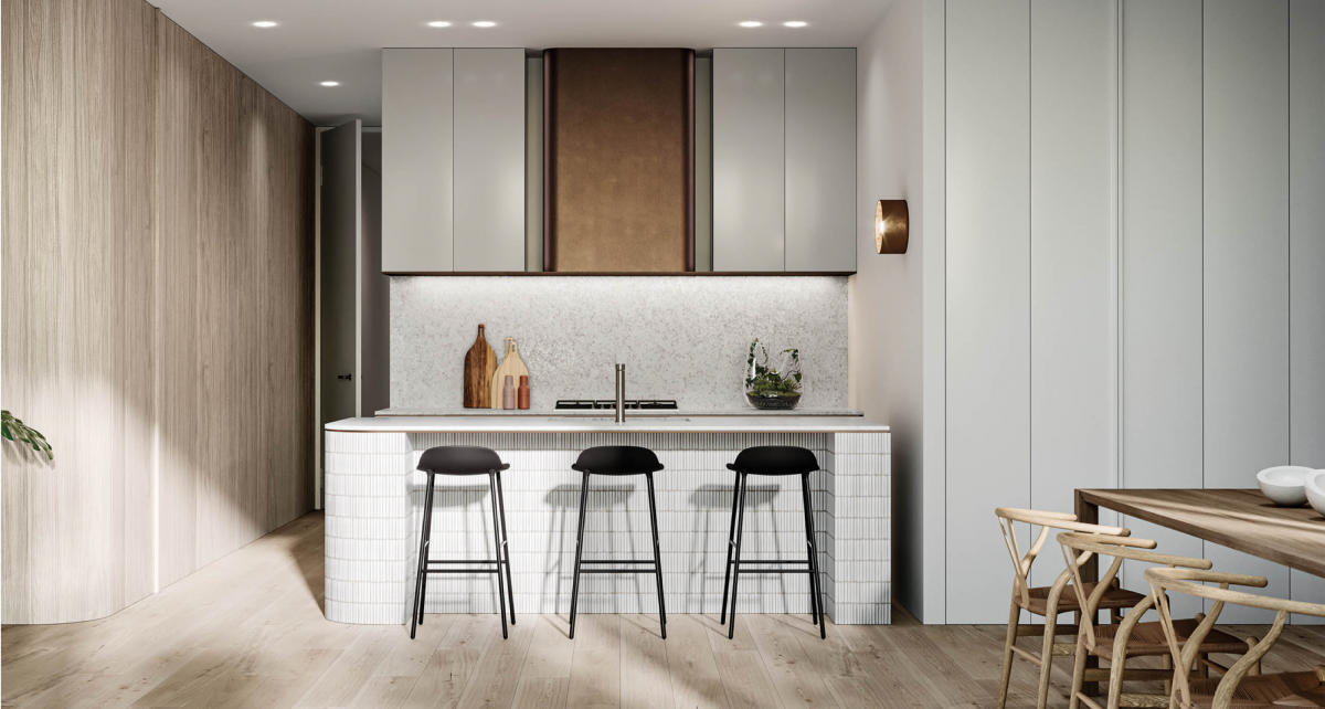 Sophisticated kitchen & dining